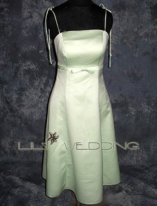 Tea Length Bridesmaid Dress - Style LED0050