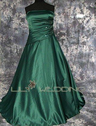 Crystal Beading Bridesmaid Dress - Style LED0071