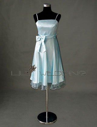 Tea Length Bridesmaid Dress - Style LED0080