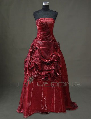 Organza Spring Bridesmaid Dress - Style LED0084
