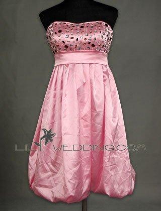 Tea Length Discount Prom Dress - Style LED0100