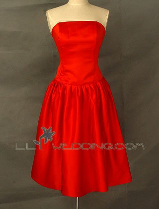Red Prom Dress - Style LED0110