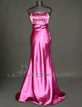 Beaded Evening Dress - Style LED0123