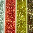 "7/8"" glitter ribbons for hair bows scrapbooking 3 yards"