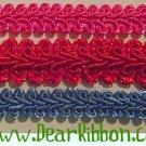 5y 3/8 chinese gimp braid headband wipe case craft trim