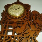 Decorative Wooden Wall Hanging Plaque with Clock