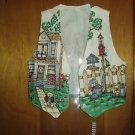 Handmade Birdhouses, Houses, Kitten Fully Lined Vest, Size Large