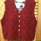 Beautiful Carolina  Sweater Vest Size L