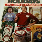 Great American Holidays Iron-on Transfer Book  by Leisure Arts  500+ Designs