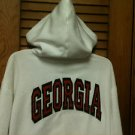 Ladies GEORGIA Zip Front Sweatshirt Hoodie Jacket - Size Large