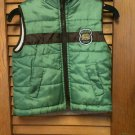 Boys Puffy Green b.t. Kids Wildlife Division Vest - 4T/4