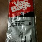 Vac Bags #55 Royal Dirt Devil Type D - 2 bag - Disposable Vacuum Cleaner Bags