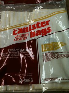 Sears Kenmore Canister Vacuum Cleaner Bags  #20-5033  - 4 Bags