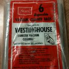 Westinghouse or Ward Series 300 Canister  Disposable Vac Bags - 3 Bags