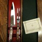 Maxim Surgical Steel Carving Knife & Serving Fork /Dishwasher Safe-NIB(Vintage?)