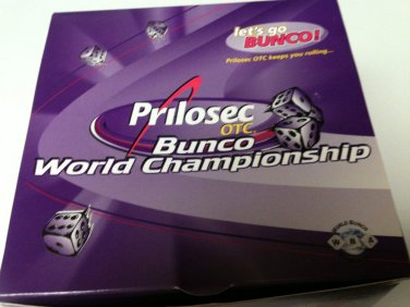Prilosec OTC Bunco World Championship Bunco Game - NEW in BOX