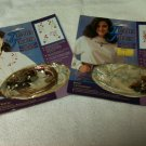 Set of 2 Transfers To Treasures Iron-On Transfer & Jewel Kits - New