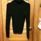 NO BOUNDARIES Women's Turtleneck Sweater - Black- Size Junior XL 15/17 - EUC*