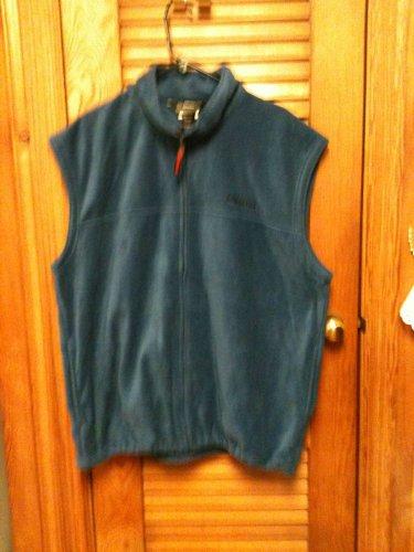 MINT Winchester Sportsman Blue Fleece Zip-Front Cozy Jacket Vest MENS XL