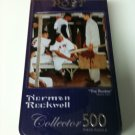 """Norman Rockwell """"THE ROOKIE"""" 500 Piece Jigsaw Puzzle factory sealed tin"""