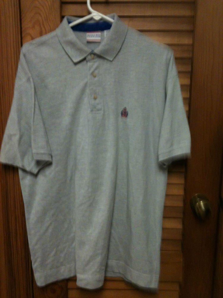 Mens Gray Bugle Boy S/S Shirt Size Large