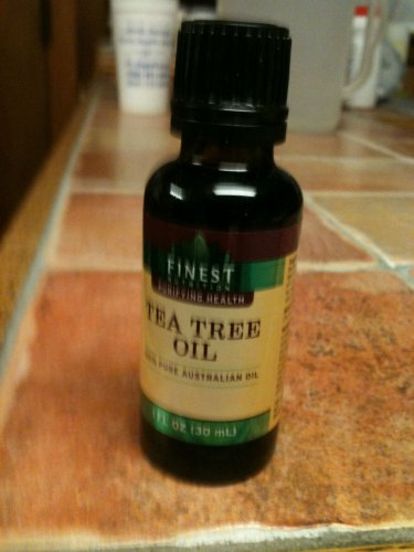 Natural 100% Pure Australian Tea Tree Oil 1 oz -Dry Skin, Acne, Cuts, Infections