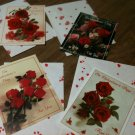 Set of 4 Valentine Greeting Cards By American Heart Association-NEW with Env.