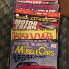 8 Muscle Cars/Hot Rod/Hot VW's/Motor Trend Corvette/Mustangs/Rd & Track/Chevy