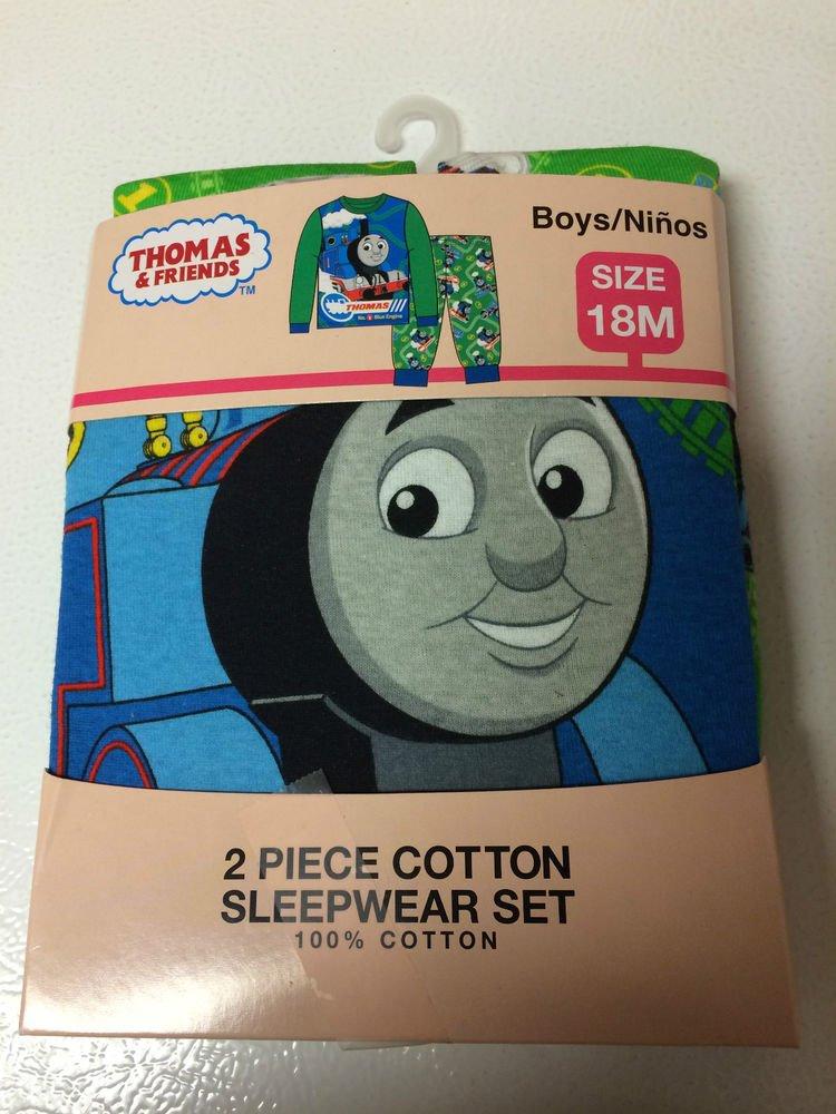 Thomas & Friends 2 piece Cotton Sleepwear Set - Size 18M - New in Box