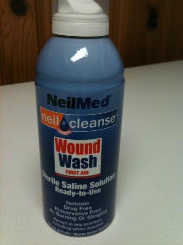 Lot of 3-- Puracyn Foot Wash 4 Fl Oz & NeilMed Wound Wash 6 Fl Oz - New