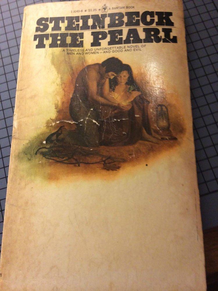 Steinbeck The Pearl -Vintage Paperback - 1974