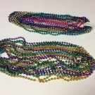 Mardi Gras Beads Necklances - 2 Dozen - Multi Colors - New