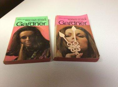 2 Erle Stanley Gardner - The Case of the Buried Clock & Case of Rolling Bones