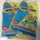 Wendy's 2009  Promotion -  Mad Libs Game - Set of 2 - New in Pkg - Unopened