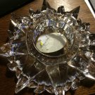 Elegant Heavy Multisided Prism Lead Crystal Candle/Votive/Tealight/Vase Holder