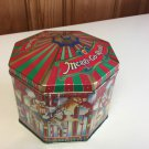 M & M's PEANUTS LIMITED EDITION CANISTER 1997 MERRY-GO-ROUND TIN -17 yrs Old