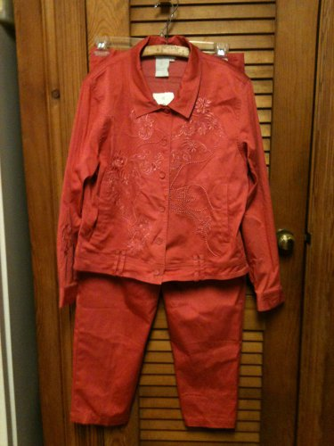 Great Cavalier by St. Paul Jacket & Pants Windsuit- Large --NWT Tags MSP $159.99