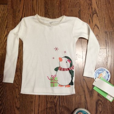 Carter's Christmas Long Sleeve Tee/Sleepware Toddler Size 2T