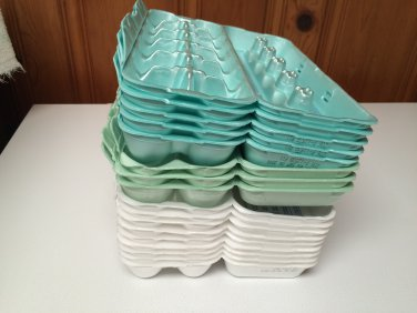 17+ Used Egg Cartons Hobby/Arts/Crafts/Storage/Jewelry/Planting Clean