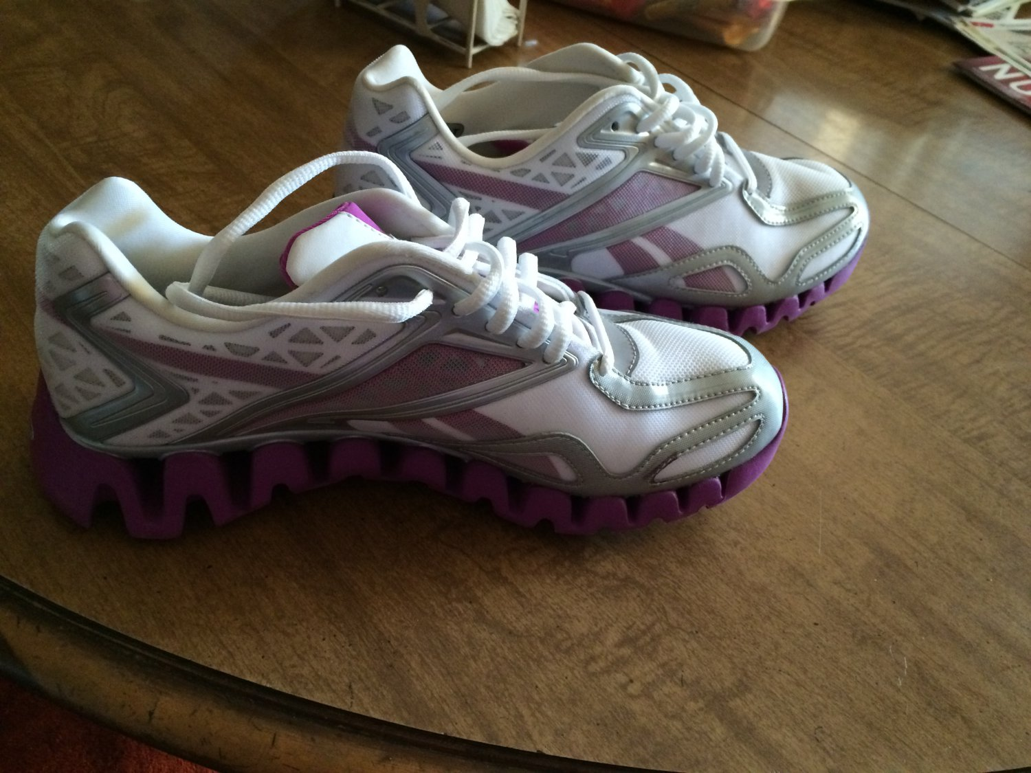 Reebok Zigtech Running Training Athletic Lace Up Sneakers Women's US 8 1/2