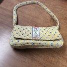 Vintage Discontinued Yellow Elizabeth Vera Bradley Small Bag Purse