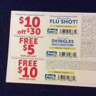 Fred's Pharmacy $25 Cpn & Gift Card Offer with Flu/Shingles Shot/trans'fer Pres.