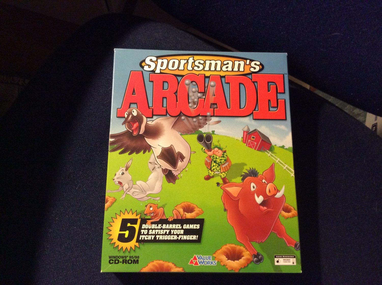 Sportsman's Arcade PC CD-ROM Value Works Creative Carnage Xantera 1999 Win95/98