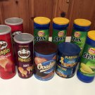 Empty Pringles Stax Planters Ovaltine Cans Containers Arts Craft Cookies Storage