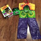 "1977 Ben Cooper (Marvel) ""THE INCREDIBLE HULK"" (Halloween) Costume & Mask, w/box"