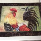 Frameable 9'x12' Rooster Print by Susan Winget