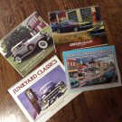 4 Calendars Wheels of Yesteryear,Junkyard Classics, Junkyard Gallery, America Remembered