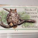 1995 Birds of America Collection Calendar -Paralyzed Veterans of America