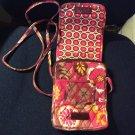 Vera Bradley Crossbody Shoulder Bag Purse -Pink Print