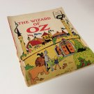 "Vintage 1970 ""The Wizard of OZ"" Book Record & Book Set (No RECORD) Educational"